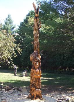 Tawas City Totem Pole